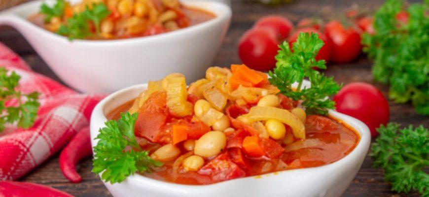 Фасолада - грецький пісний суп