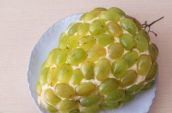Салат Тіффані з куркою і ананасом - рецепт