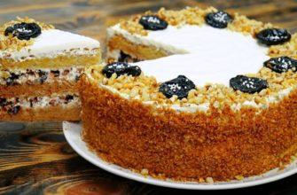 Оксамитовий медовий торт - рецепт