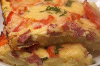 картопляна піца на сковороді, рецепт приготування