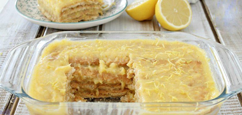 Лимонний торт без випічки, рецепт приготування