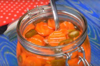 Маринована морква, рецепт приготування