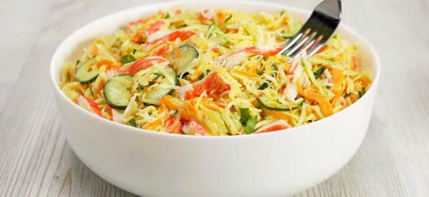 Овочевий салат, рецепт приготування
