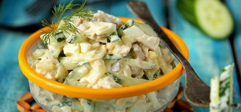 Простий салат, рецепт приготування