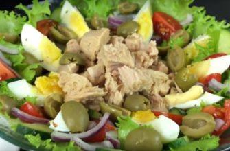Салат з тунцем, рецепт приготування