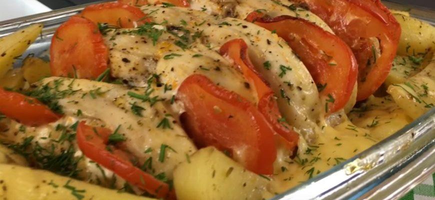 Страва з картоплі і м'яса - рецепт