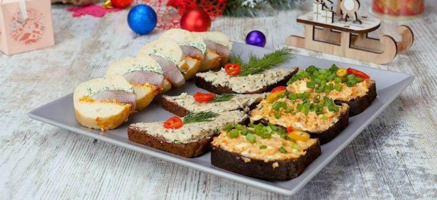 Святкові закуски для Різдвяного столу - рецепт