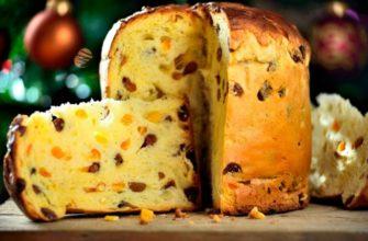 Традиційний італійський кекс, рецепт приготування