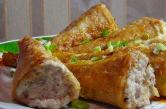 Закуска з сардин і вафельних конусів - рецепт
