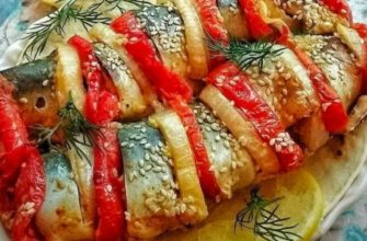 Запечена скумбрія - рецепт