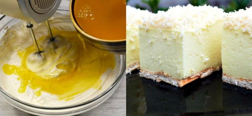 Зимовий торт без випічки, рецепт приготування