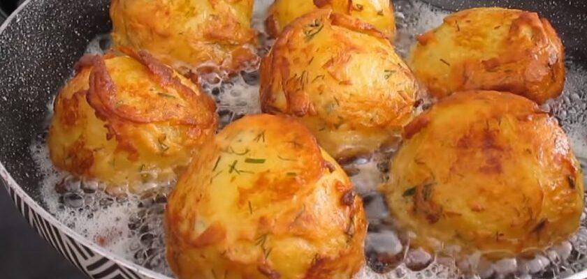 Ароматна картопля в клярі, рецепт приготування