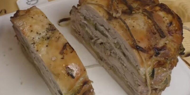 Багатошаровий стейк, рецепт приготування