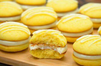 Чудові лимонні тістечка, рецепт приготування
