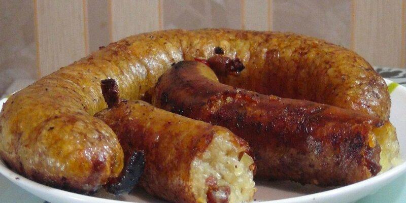 Домашня картопляна ковбаса, рецепт приготування