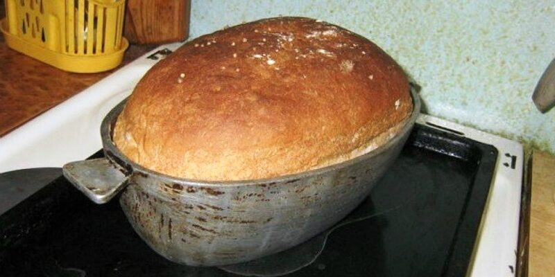 Домашній хліб без замісу, рецепт приготування