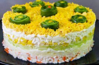 Дуже ніжний салат «Свіжість», рецепт приготування