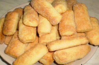 Дуже смачненьке печива на майонезі, рецепт приготування