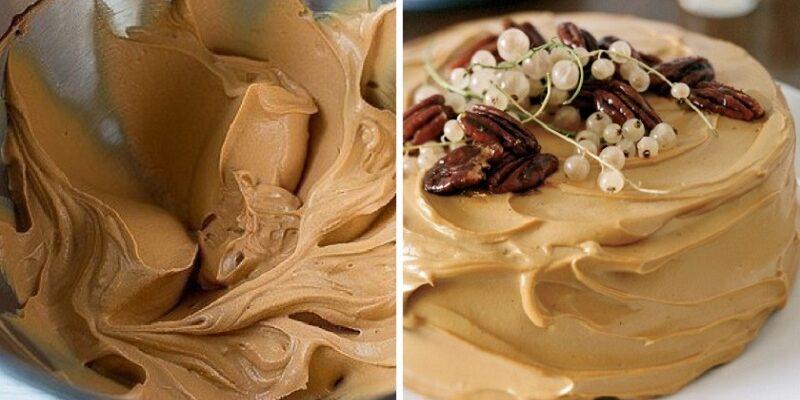 Карамельний крем для випічки, рецепт приготування