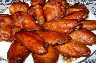 Крильця в особливому маринаді, рецепт приготування
