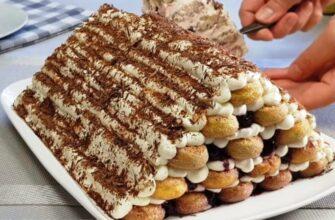 Монастирська хата, рецепт торта