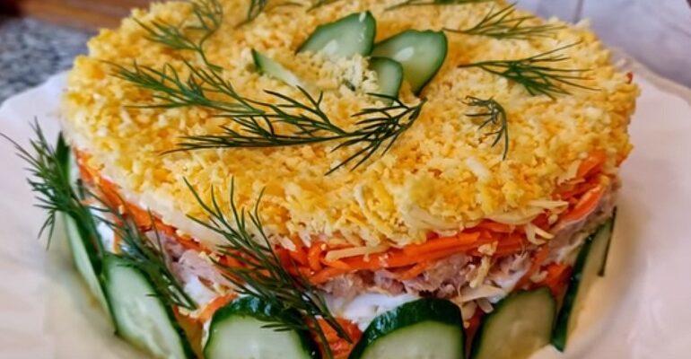 Ніжний салат «Мімоза», рецепт приготування