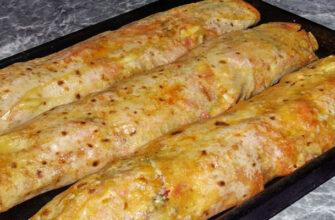 Перекус з лаваша, рецепт приготування