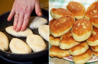 Пишні пиріжки з ягідною начинкою, рецепт приготування