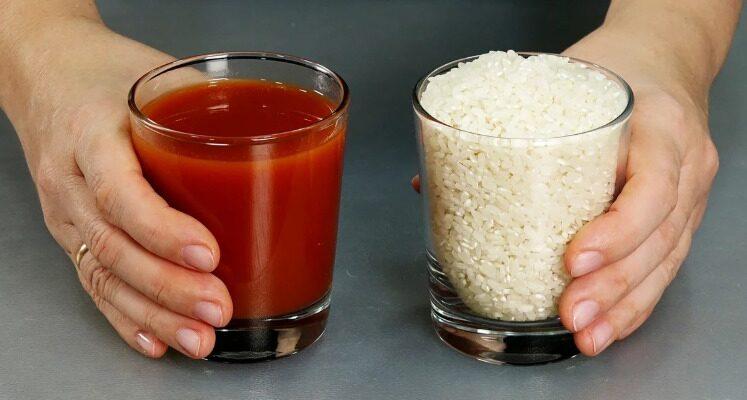 Рис по-новому, рецепт приготування