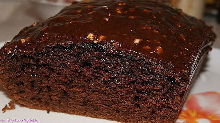 Шоколадний кекс в духовці, рецепт приготування