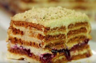 Торт з халвою без випічки, рецепт приготування