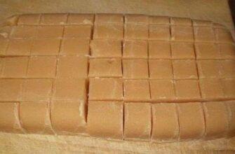 Цукерки «Корівка», рецепт приготування