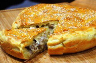Апетитний пиріг з смачною начинкою - рецепт приготування