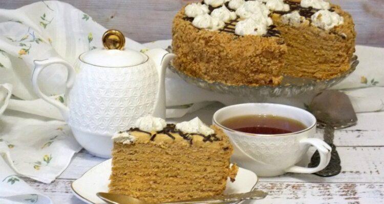 Арахісовий торт Корівка - рецепт приготування