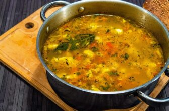Домашній суп з галушками, рецепт приготування