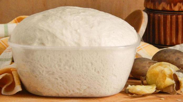 """Дріжджове тісто """"Як пух"""" - рецепт приготування"""