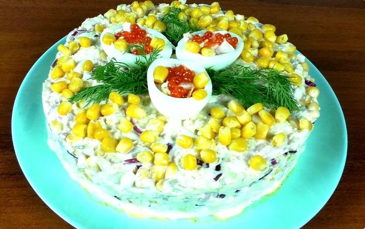 Приголомшливий салат »Ніжність» з пекінською капустою