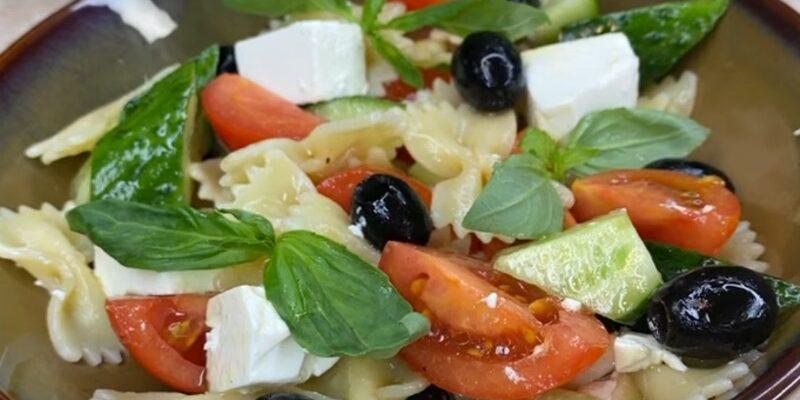 Італійський салат з макаронами - відмінний рецепт