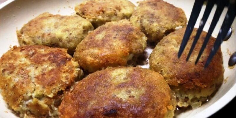 Котлети з гречки і картоплі - рецепт приготування