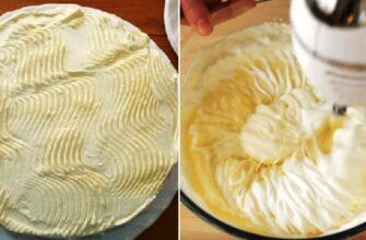 Крем «Пломбір» - рецепт приготування