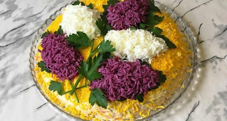 Легкий салат «Бузок» - рецепт приготування