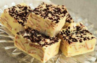 Молочно-ванільний торт - просте приготування