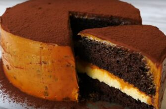 Шоколадний торт «Мулатка» - рецепт приготування