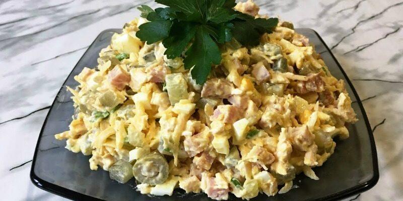 Смачний салат «Панночка» - відмінний рецепт