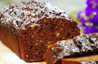 Смачний шоколадний кекс - рецепт приготування