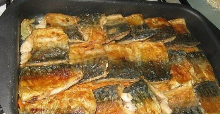 Соковита скумбрія - рецепт запікання риби