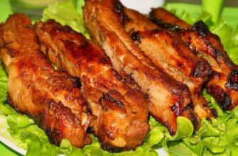 Запечене м'ясо в духовці - відмінний рецепт
