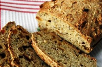 Бездріжджовий хліб без замісу - відмінний рецепт