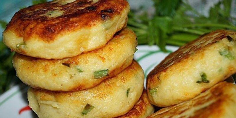 Биточки з картоплі - рецепт приготування