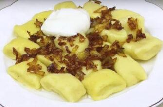 Ледачі вареники з картоплі - рецепт приготування